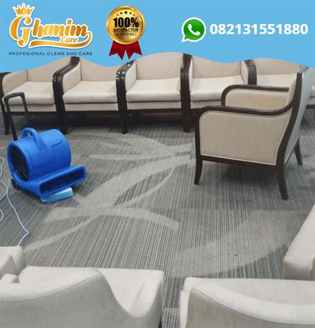 Jasa cuci karpet malang - Ghanim Care